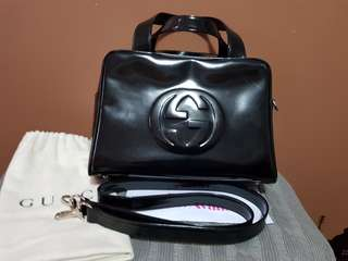 Authentic (Vintage) Gucci Patent Leather Bag