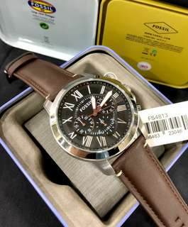 RAMADHAN SALE SALE!!!! Fossil Leather Original BNWT D: 4,5cm + TinBox