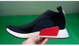 Adidas NMD CS2 Core Black Carbon Blue Red READY STOCK!!!