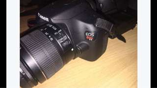 CANON EOS T5 (Practically brand new)
