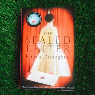 PRELOVED NOVEL: The Sealed Letter by Emma Donoghue