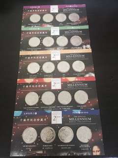 The official millennium medal collection (Pack of 5)