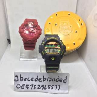 gshock x mcdonalds bonus gshock red out limited edition