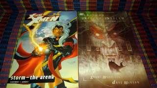 Marvel - Xtreme XMen storm the arena/DC - Batman arkham asylum