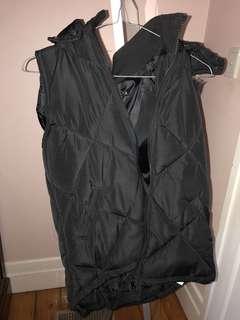 Cotton Black Vest