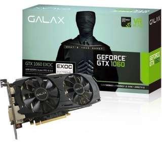 Galax GTX1060 6GB Black