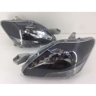 Toyota VIOS Headlamp Black Edition 07-13