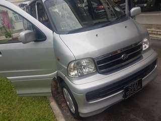 Daihatsu Terios 7-Seater 1.5 Manual 2WD
