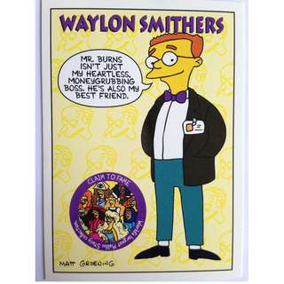 1994 Skybox Simpsons Series 2 - Base Card #S8 - Waylon Smithers