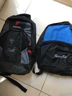 REPRICE Tas Backpack Fitness First/ Gym Bag