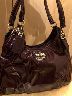 Authentic Coach Purple handbag