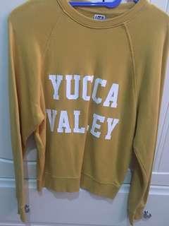 uniqlo mustard sweater