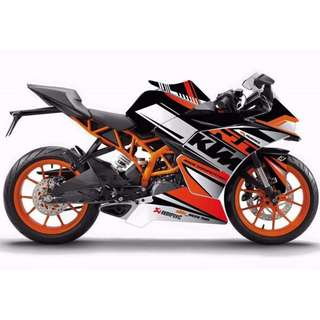 KTM RC DECAL STICKER