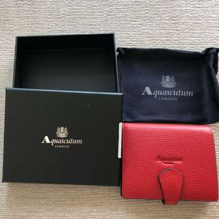 Aquascutum London Wallet 銀包