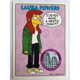 1994 Skybox Simpsons Series 2 - Base Card #S6 - Laura Powers