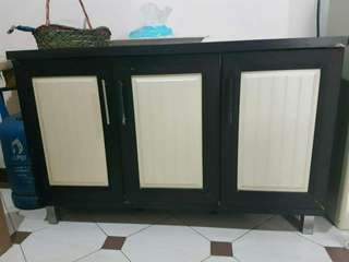 Lemari 3 black white