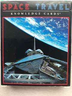 Space Travel Knowledge Cards