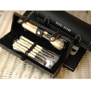 Instock! BOBBI BROWN Make-Up Brushes (Set of 9 with Mirror) + Free Post!