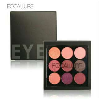 Ready stock Focallure 9 eyeshadow pallete