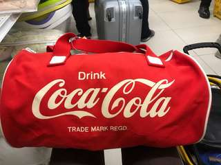 vtg coca cola travel bag