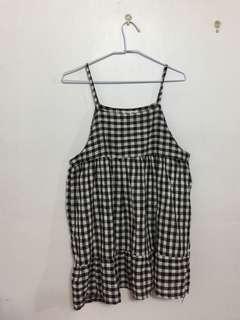 🚚 格紋小洋裝