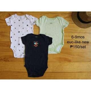 Preloved Used Clothes Romper for Infant Baby Toddler Boy SET