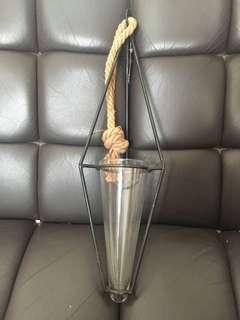 懸掛玻璃花瓶全新