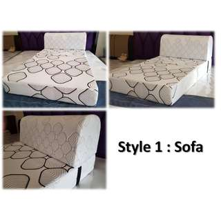 Foldable Sofa Bed 2 in 1