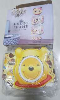 BN Winne the Pooh photo frame (no clock function)