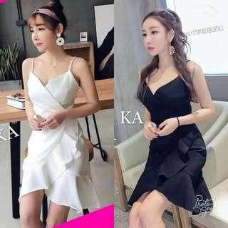 🍃Vneck Wrap Around Elegant Dress