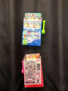 日本直送食玩-迷你角子老虎機(玩具內有零食)