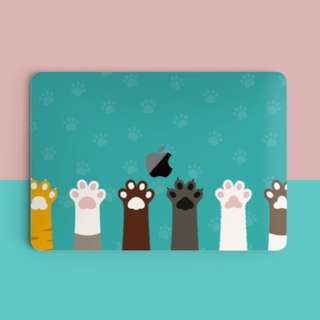 🚚 Animal Pet Paws Macbook Vinyl Decal