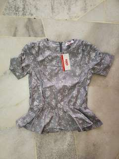 Kiko Kids Dress Grey