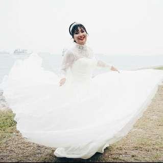 Baju pengantin murah