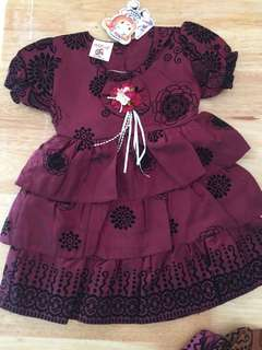 2 to 3 years Flower Dress