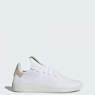 Adidas Pharrell Tennis Hu WHITE BROWN Shoes!! 100% original!!