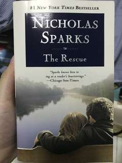 The Rescue (by Nicholas Sparks)