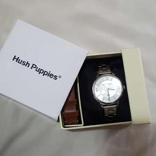 Jam Hush Puppies Silver new😍