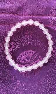 Rose Quartz Bracelet (Dainty)