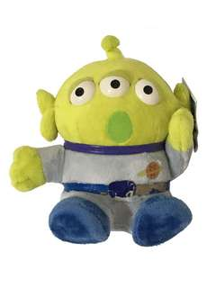 Toy Story 反斗奇兵 三眼仔 綠色部隊 小綠人 外星人 玩偶 公仔 吶喊 可憐 表情 三眼仔 注意:腰帶甩色