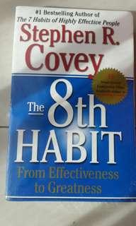 8th habit book