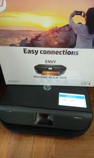 HP 無線Printer hp envy 5020