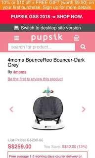 Bounceroo brand new by 4moms - unopened w warranty