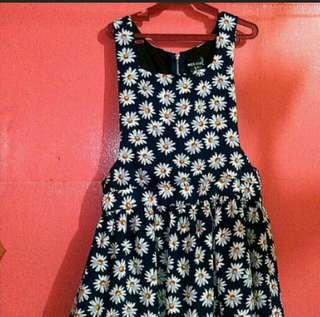 Floral Jumper Skirt