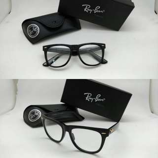Kacamata rayban wayfarer rb2140 large lensa anti radiasi