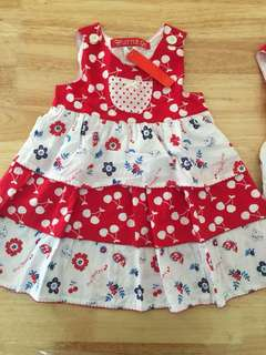 Flower Dress for 3 to 4 years old