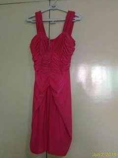 (Repriced) Karimadon Pink Ruffled Dress