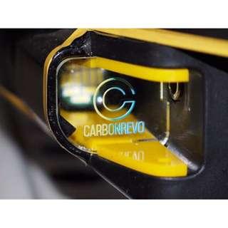CarbonRevo Front LED Light Cover