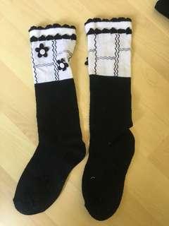 bnw flower girls socks