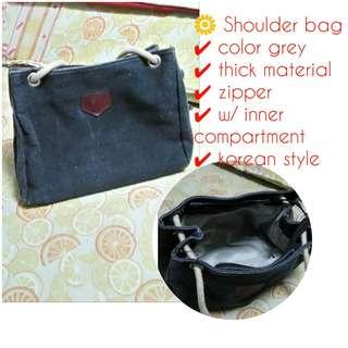 Canvas tote bag/ shoulder bag